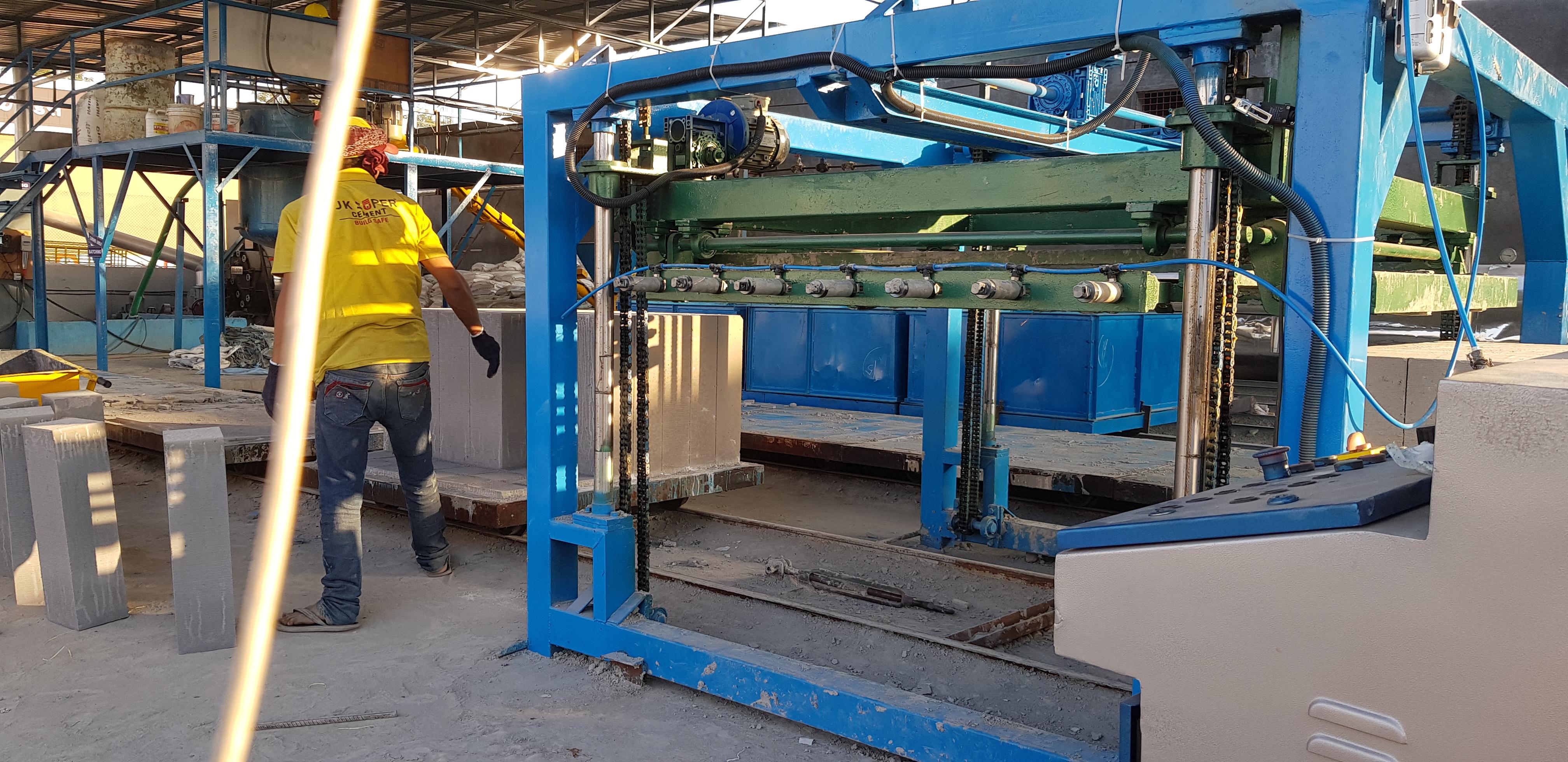AAC Blocks Manufacturing